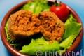 Polpettine di ratatouille con paprika dolce
