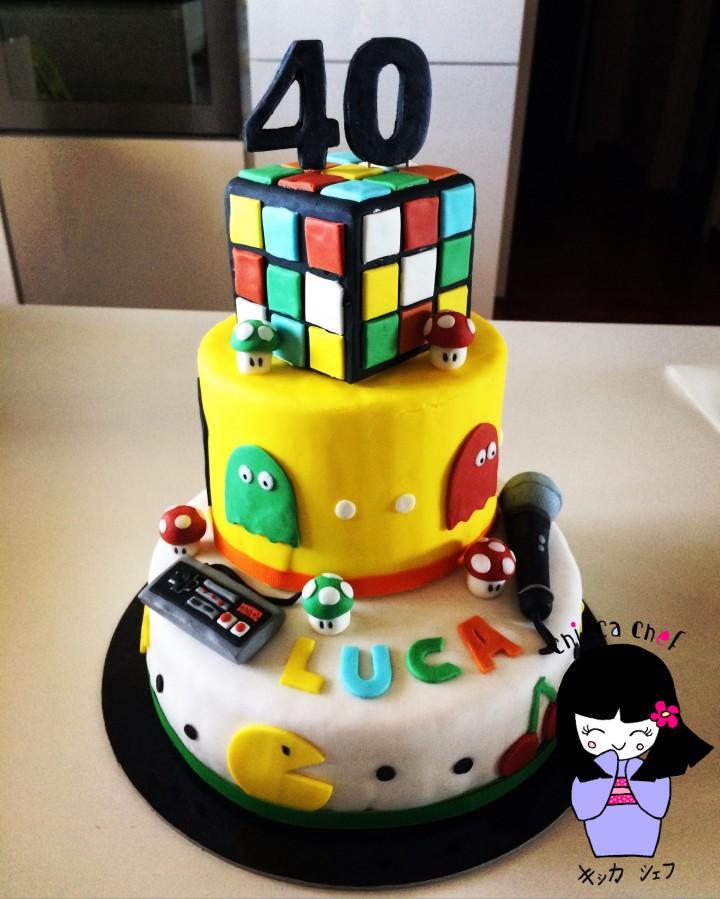 Torta Luca 40
