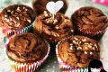 Muffin banana e nutella swirl